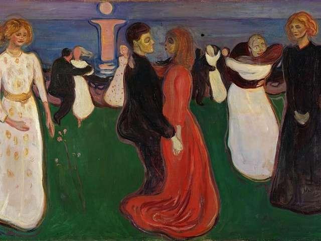 Maleri af Edvard Munch
