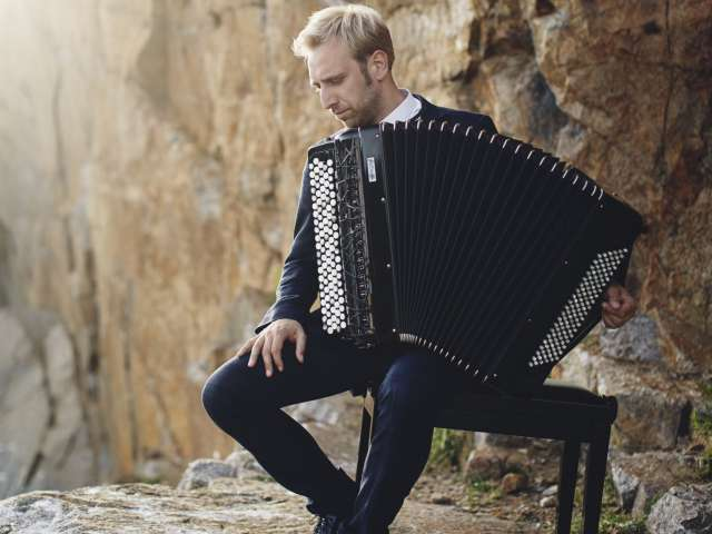 Accordeon-solisten Bjarke Mogensen
