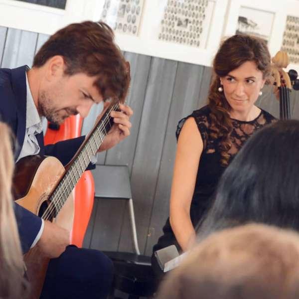 Duo Munk-Riegels spiller koncert